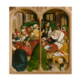 The Death of Mary. the Wings of the Wurzach Altar, 1437 Giclee Print