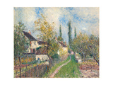 A Path at Les Sablons, 1883 Giclee Print by Alfred Sisley