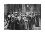 Rien Ne Va Plus, the Gambling Rooms at Monte Carlo, Monaco, 1890 Giclee Print