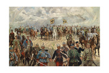 The Allied Monarchs with their Commanders in the 1st World War, 1914-1918 Giclee Print by  Koch