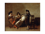 Musical Evening, Early 17th Century Giclee Print