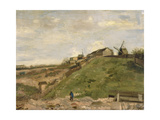 The Hill of Montmartre with Stone Quarry, 1886 Giclee Print