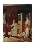 Morning of the Lady of the Manor, 1823 Giclee Print by Alexei Gavrilovich Venetsianov