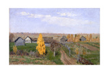 Golden Autumn. Slobodka, 1889 Giclee Print by Isaak Ilyich Levitan