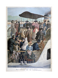 Parisians Returning from the Countryside by Boat, 1894 Giclee Print by  Weber