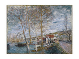 Flood at Moret (Inondation À More), 1879 Giclee Print by Alfred Sisley