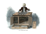 The Automaton Chess Player, 1845 Giclee Print