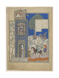 Khosrow and Shirin, Early 15th C Giclee Print
