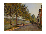June Morning in Saint-Mammès, 1884 Giclee Print by Alfred Sisley