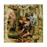The Death of Achilles, 1630-1635 Giclee Print by Pieter Paul Rubens