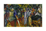 Zoological Garden I, 1912 Giclee Print by August Macke