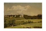 The Akhtyrka Estate, 1880 Giclee Print by Appolinari Mikhaylovich Vasnetsov