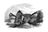 Luther's House at Wartburg Castle, Eisenach, Germany, 1862 Giclee Print