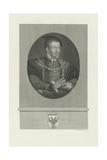 Portrait of Charles V of Spain (1500-155), 1848-1849 Giclee Print
