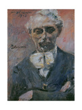 Portrait of Leonid Pasternak (1862-194), 1923 Giclee Print by Lovis Corinth