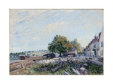 Saint-Mammès. Morning, 1884 Giclee Print by Alfred Sisley