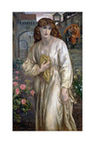 Salutation of Beatrice, 1880-1882 Giclee Print by Dante Gabriel Rossetti