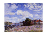 The Loing at Saint-Mammès Giclee Print by Alfred Sisley