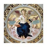 The Poetry. Stanza Della Segnatura, 1508 Impression giclée par  Raphael
