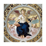 The Poetry. Stanza Della Segnatura, 1508 Giclee Print by  Raphael