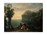 Landscape with Acis and Galatea, 1657 Giclee Print by Claude Lorrain