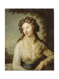 Portrait of Konstancja Lubomirska (Rzewusk), 1789 Giclee Print by Anton Graff