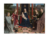 The Virgin and Child with Saints and Donor, C. 1510 Giclee Print by Gerard David