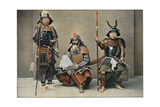 A Group of Samurai, C1890 Giclee Print