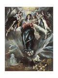The Immaculate Conception, Ca. 1608-1614 Giclee Print by  El Greco