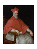 Portrait of a Cardinal Giovanni Dolfin (1545-162) Giclee Print by Leandro Bassano