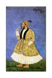 Portrait of Sayyid Shah Kallimullah Husayni, Ca 1675 Giclee Print