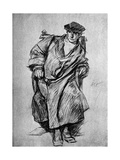 Study for Gown, Court of Henry VIII, 1899 Giclee Print by Edwin Austin Abbey