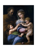 The Madonna of the Rose (Madonna Della Ros), C. 1520 Giclee Print by  Raphael