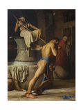 Samson and the Philistines, 1863 Giclee Print by Carl Bloch