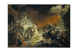 The Last Day of Pompeii, 1833 Giclee Print by Karl Pavlovich Briullov