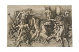 The Battle of the Sea Gods, Ca 1475 Giclee Print by Andrea Mantegna