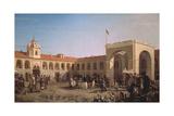 Apraksin Market in St. Petersburg, 1862 Giclée-Druck von Pyotr Petrovich Vereshchagin