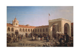 Apraksin Market in St. Petersburg, 1862 Giclee Print by Pyotr Petrovich Vereshchagin