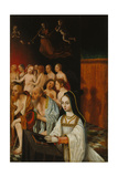 The Souls of the Just and Donor, C. 1520 Giclee Print by Jan Mostaert