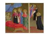 The Vision of the Dominican Habit, Ca 1435 Giclee Print by  Fra Angelico