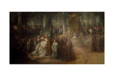 The Coronation of King Gustav III of Sweden, 1782-1793 Giclee Print by Carl Gustaf Pilo