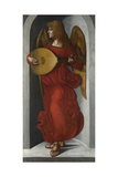 An Angel in Red with a Lute, C. 1490-1499 Giclee Print by Giovanni Ambrogio De Predis