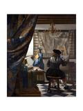 The Art of Painting (The Allegory of Paintin), 1673 Giclee Print by Jan Vermeer
