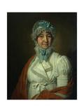 Portrait of Nadezhda Ivanovna Dubovitskaya, 1809 Giclee Print by Vladimir Lukich Borovikovsky
