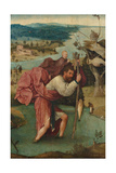 Saint Christopher, 1490S Giclee Print by Hieronymus Bosch