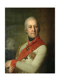 Portrait of Ivan Petrovich Dunin, 1801 Giclee Print by Vladimir Lukich Borovikovsky