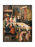 The Marriage Feast at Cana, Ca 1550-1565 Giclee Print by Hieronymus Bosch