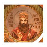 Saint Dimitry, Metropolitan of Rostov, 1885-1896 Giclee Print by Viktor Mikhaylovich Vasnetsov