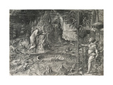 The Allegory of Life (The Dream of Raphae), 1561 Giclee Print by Giorgio Ghisi