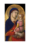 Madonna with Child, Ca 1340 Giclee Print by Pietro Lorenzetti